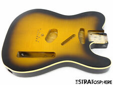 * Fender Richie Kotzen Telecaster Tele BODY Ash Flame Maple Top Bound SALE #441