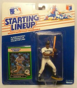 1989  ALVIN DAVIS - Starting Lineup - SLU - Sports Figurine - Seattle Mariners