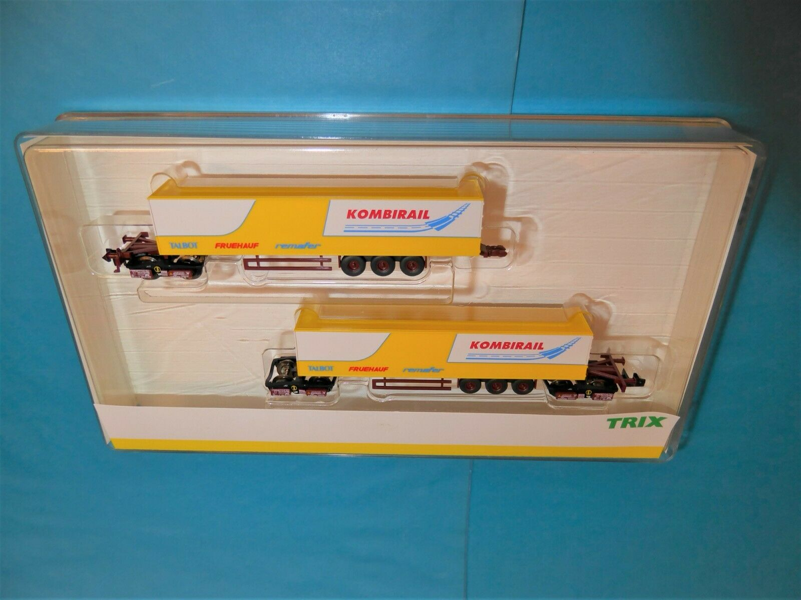 MINITRIX N 15200  Kombirail  DB AG Güterwagen-Set