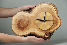 Orologio da parete UNICO fatto a mano in legno rustico Watche per arredamento
