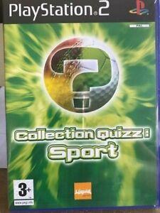 COLLECTION QUIZZ: SPORT - PS2 - NEUF - VERSION FRANÇAIS