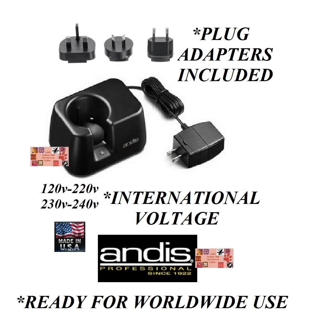 Andis AGR  Bgr  Agrc  Bgrc  Powergroom Batteria Worldwide Tensione Ricarica