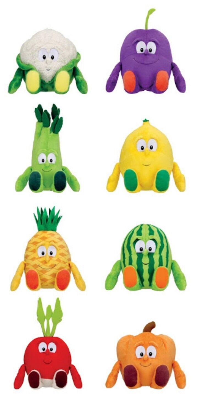 GLI ORTAGGIOTTI PELUCHE Penny Market Market Market Goodness Gang Body Squad Plush Vitamini Toy 903b9f