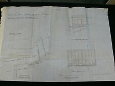 Leigh-on-Sea Essex - Original 1912 Architects Plans for Bathing Accomodation