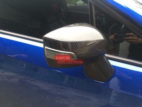 Carbon Fiber outside door mirror cover for 2015~2019 Subaru Levorg touring◎
