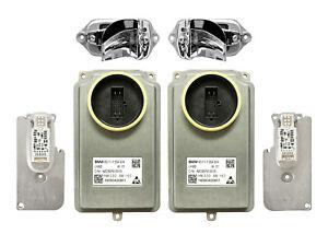 New Set Full LED Headlight Lear Ballast Control Unit Light Module BMW 7' F01 LCI