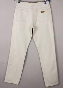 Wrangler Hommes Décontracté Slim Jeans Jambe Droite Taille W30 L34 BCZ787