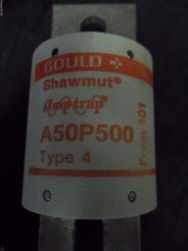 New Shawmut A50P500-4 500 Amp Fuse Bussmann FWH-500