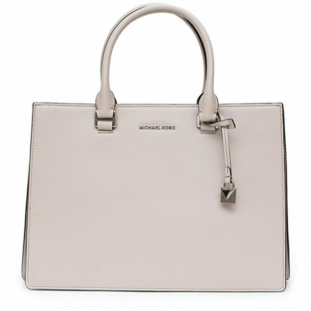 9a065ad7aa6b Michael Kors Sutton Medium Gusset Satchel Cement 30t7ssus2l for sale ...