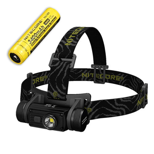 Nitecore HC60 XM-L2 U2 Rechargeable LED Headlamp 1000Lm Includes 3400mAh Battery