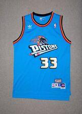 85c74eb724d Grant Hill Detroit Pistons adidas Throwback Road Hardwood Classics Swingman  NWT