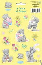 Me To You Tatty Teddy Bear Collectors - Pack of 2 Sheets of Stickers ( Yellow )
