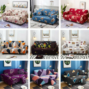 1-2-3-4-Seater-Stretch-Sofa-Slipcovers-Couch-Armchair-Cover-1X-Pillowcase-Free