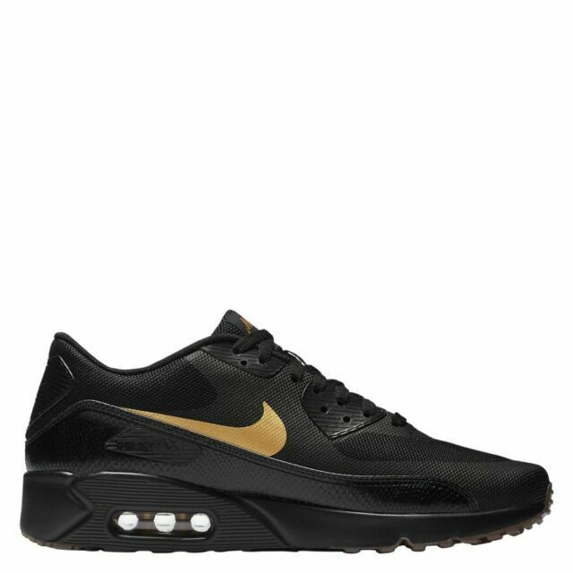 Size 12 - Nike Air Max 90 Ultra 2.0 Essential Black Gold 2018 for ...