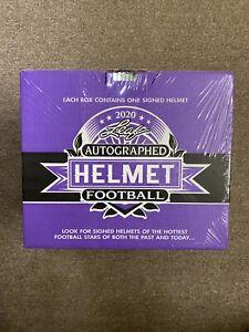 2020-Leaf-Autographed-Full-Size-Football-Helmet-Factory-Sealed-Box