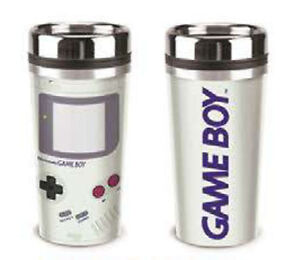 Nintendo-Gameboy-Metal-Tumbler-Coffee-Mug-Cup-NEW