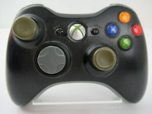 Microsoft XBOX 360 Wireless Controller X801769-022 OEM Black Video Game