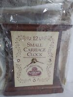 Sudberry House Small Wooden Carriage Clock For Cross Stitch
