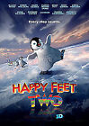 Happy Feet Two (3D Blu-ray, 2012, 3-Disc Set)