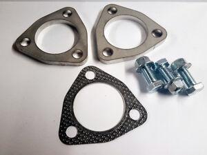 58mm-304-Acero-Inoxidable-Escape-Reparacion-Brida-Set-3-Pernos-Kit-Completo