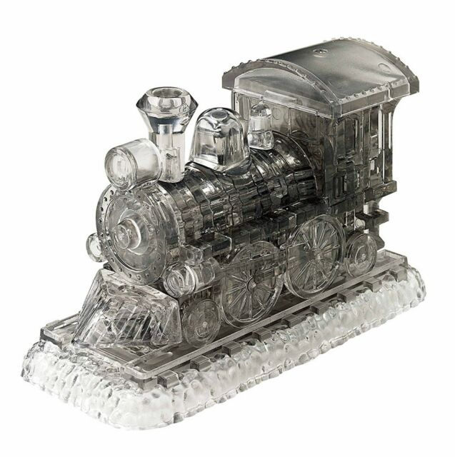 Beverly 50185 38 Piece 3D Crystal Puzzle SL Steam Locomotive