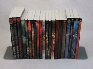 Lot of 21 MICHELLE PILLOW Realm Immortal Dragon Lords of Var Zhang Dynasty