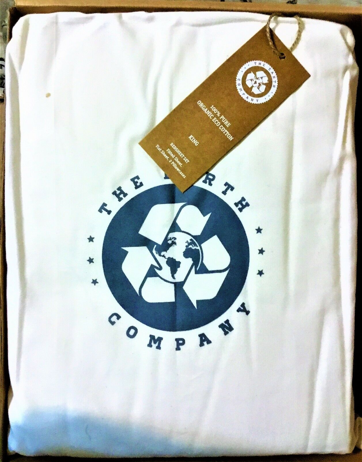 Bed Sheets Set, King Size - The Earth Co. - So Soft, made w  our ecology in mind
