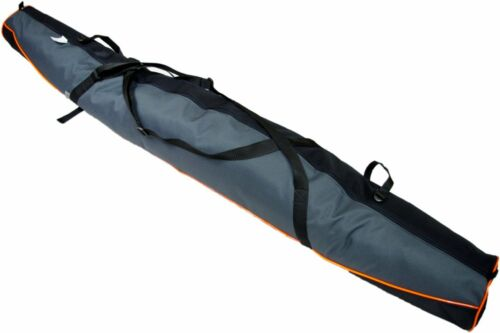 NEW SKI BAG HOLDALL RUCKSACK CARRY CASE LUGGAGE 150cm 160cm 170cm 180cm GREY