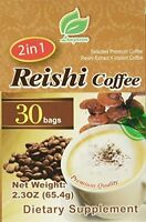 Reishi Coffee 2 In 1, Selected Premium Coffee, Reishi Extract And Instant Coffee on sale