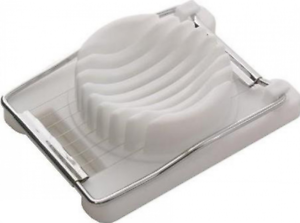 Egg Slicer Quick /& Easy For Salads /& Sandwiches Plastic Housing Chef Aid