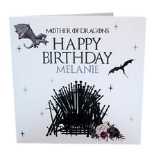 Game of Thrones Personalised Birthday Card eBay