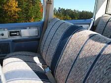 Truck Bench Seat Cover Rear Saddle Blanket Navy Blue Full Size Universal Car Van