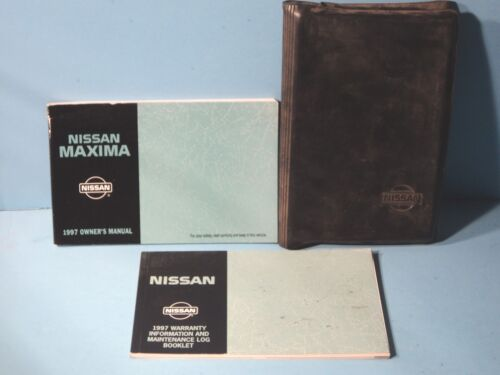 97 1997 Nissan Maxima owners manual