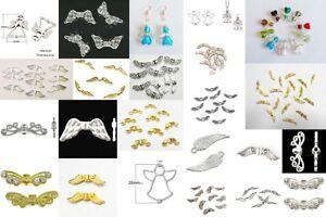 Un pack de ange gardien fée ailes charm spacer beads-sans plomb-lady-muck 1-afficher le titre d`origine NraYIzly-07194959-269814729