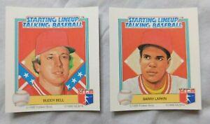 1988 Starting Lineup Talking Baseball Cincinnati Reds Baseball Card Pick one