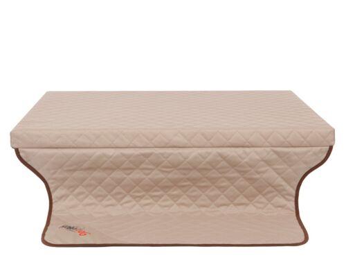 Cama para perro light trunk lugar para dormir los perros colchón perro perros almohada beige