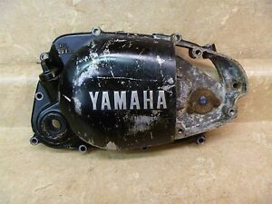 Yamaha-80-YZ80-B-YZ-80-B-Used-Original-Engine-Right-Engine-Cover-1975