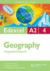 Edexcel A2 Geography: Geographical Research: Unit 4 by Dave Holmes, Kim Adams (Paperback, 2009)