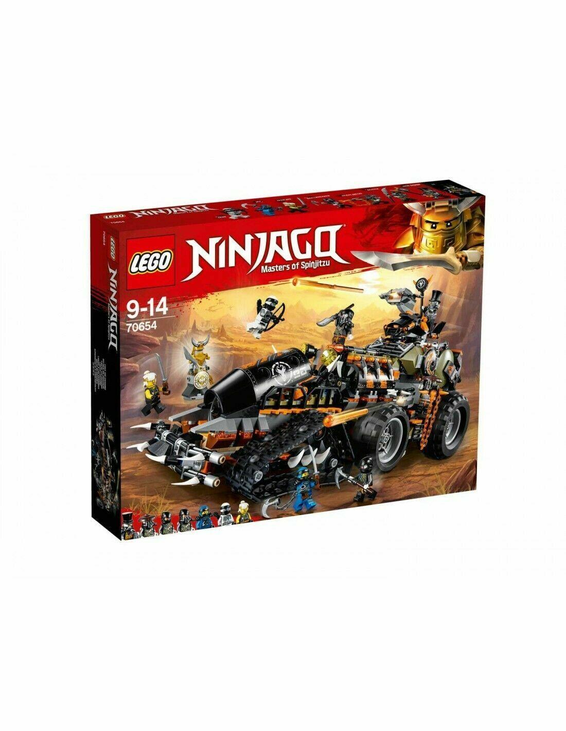 LEGO 70654 - Ninjago - Turbo-Cingolato