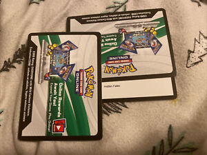 50X Pokemon TCGO Hidden Fates Code Cards UNUSED MESSAGED SUPER FAST DELIVERY