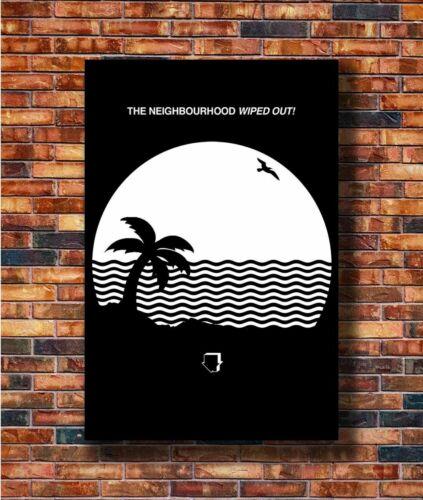 W198 Art The Neighbourhood Wiped Out Custom Rock Music Band Poster