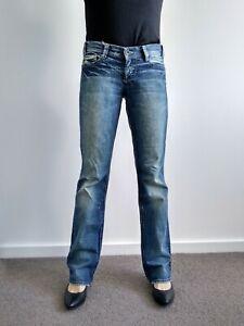 Mavi-Womens-Jamie-Straight-Leg-Blue-Jeans-28-L32