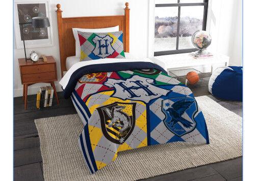 Harry Potter Twin Single Comforter, Sheets + BONUS SHAM (5 Piece Bed In A Bag)