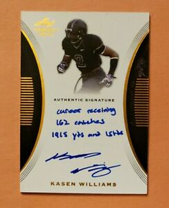2015-Leaf-Trinity-Kasen-Williams-Browns-RC-Rookie-Inscription-Auto-Autograph