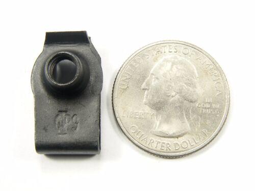 20 pcs #146 Ford Body Bolts /& U-nut Clips 10mm Hex 10ea M6-1.0 x 25mm Long