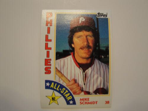 1984 Topps #388 Mike Schmidt