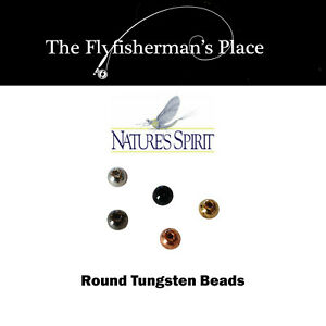 Slotted Tungsten Beads Natures Spirit 20 Pack,