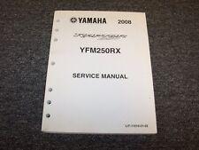 yamaha yfm250rx raptor 250 2008 atv repair service manual