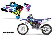 AMR Racing Yamaha YZ 250F/450F Shroud Graphic Kit MX Bike Decals 03-05 FLASHBACK