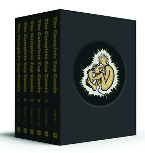 THE-COMPLETE-ZAP-COMIX-HARDCOVER-BOX-SET-R-CRUMB-S-CLAY-WILSON-RICK-GRIFFIN